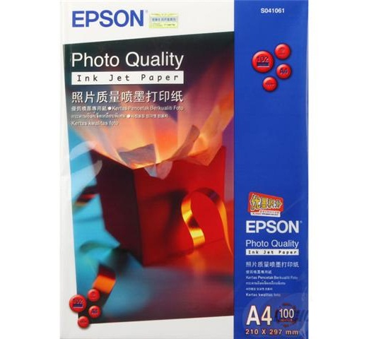 Giấy in Epson Photo Quality Ink Jet Paper A4 100 sheets