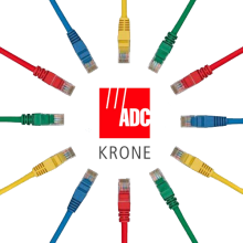Dây Patch Cord ADC Krone cat 5 UTP 5m